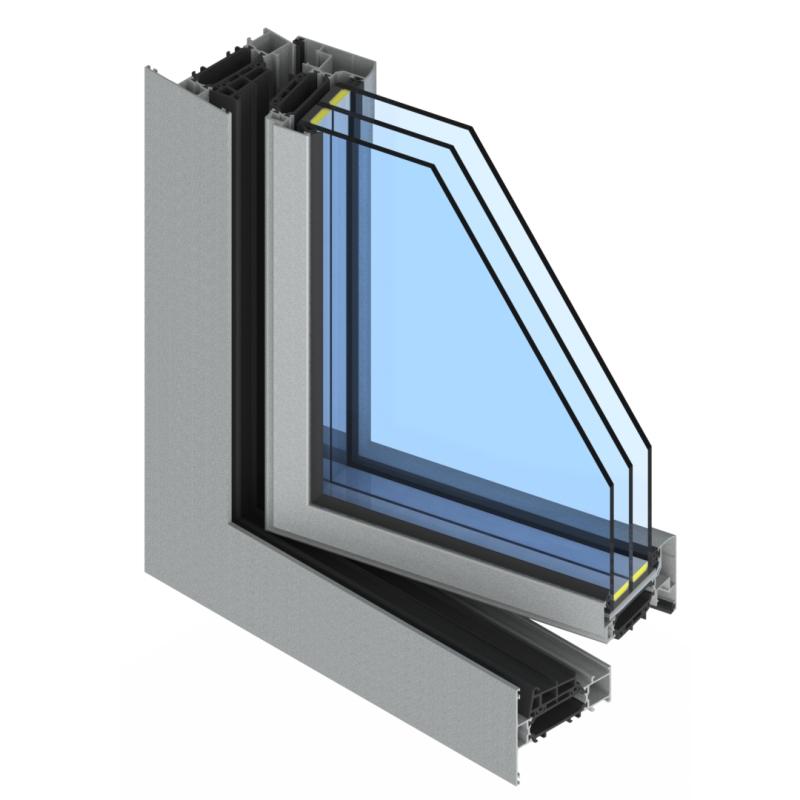 окна из теплого алюминия
